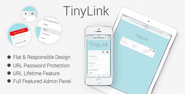 CodeCanyon TinyLink small and powerful URL shortener script 8108879