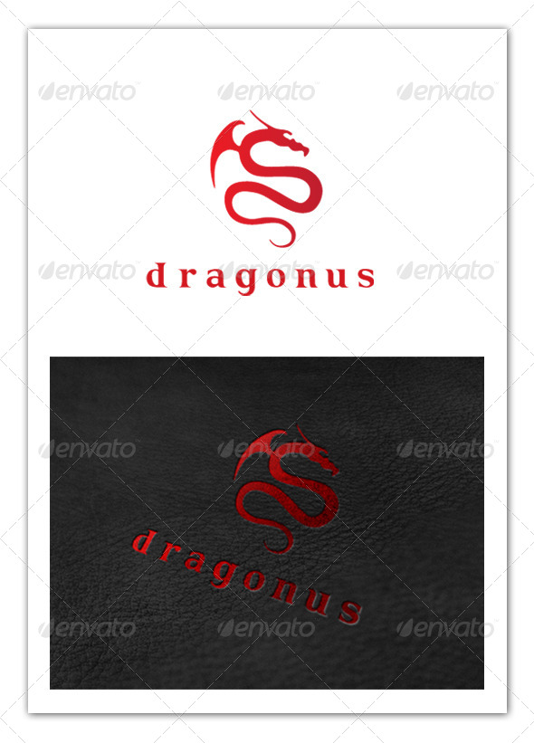 GraphicRiver Dragon Logo 8209240