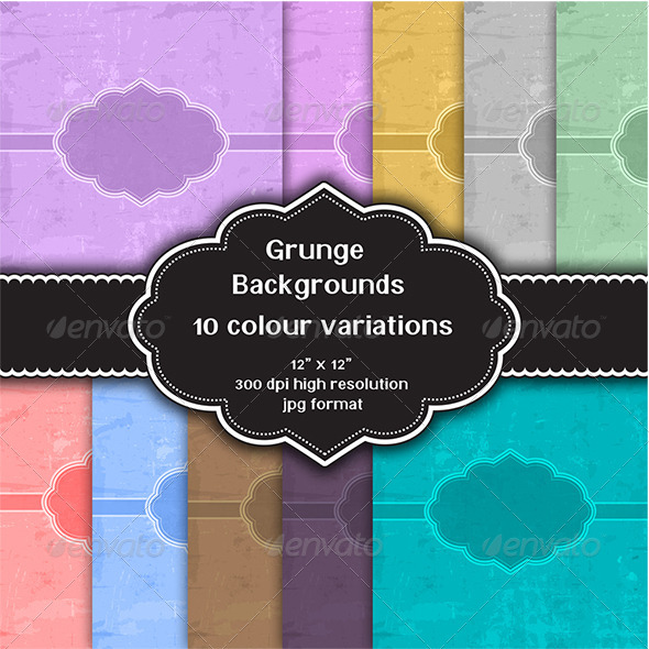 GraphicRiver Grunge Backgrounds 8216713