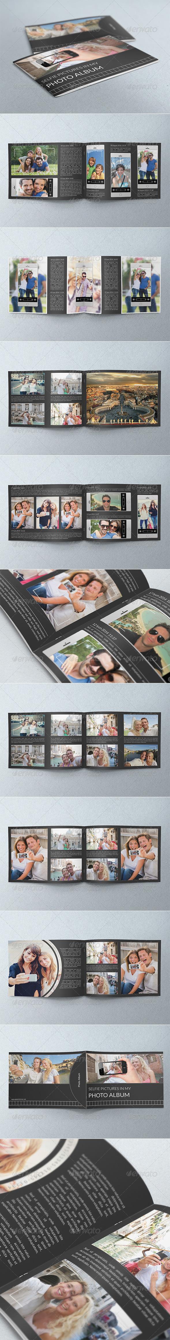 GraphicRiver Selfie Photography Portfolio Album 8216743