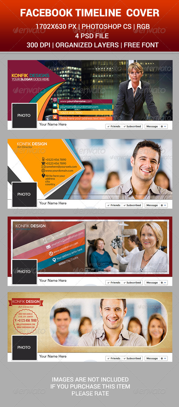 GraphicRiver Facebook Timeline Business 8216880