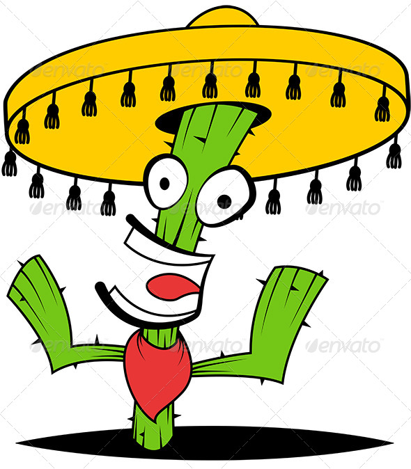 GraphicRiver Crazy Cactus 8216914