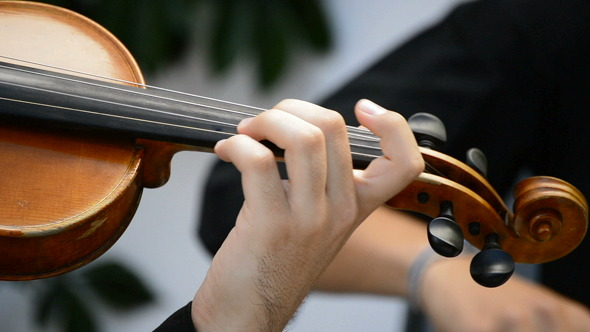 VideoHive Musician Playing Violin 8217156