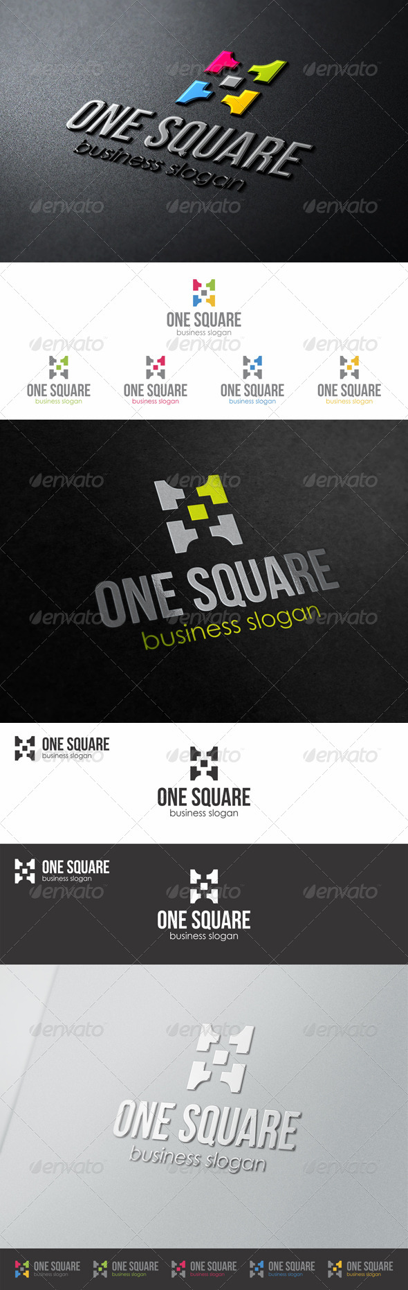 One Square Enterteinment Media Logo