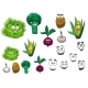 Cartoon Vegetables - GraphicRiver Item for Sale