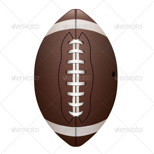 GraphicRiver Vector Realistic Isolated Football Illustration 8217328