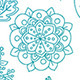Blue and Green Harmony Seamless Pattern - GraphicRiver Item for Sale