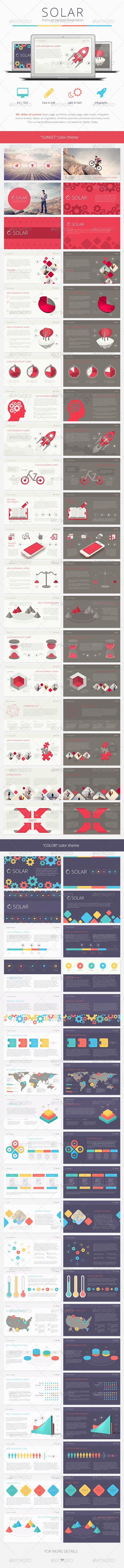 GraphicRiver Solar Keynote Presentation Template 8208898