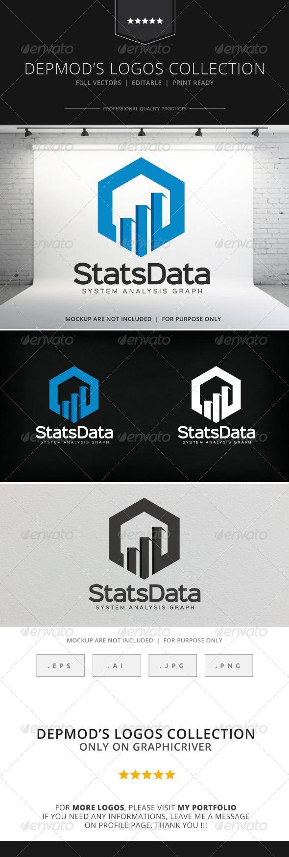 GraphicRiver Stats Data Logo 8217515