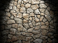 old grunge wall of rough stones as background, light effect - PhotoDune Item for Sale