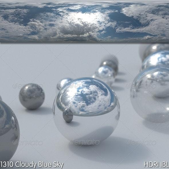 3DOcean HDRI IBL 1310 Cloudy Blue Sky 8217762