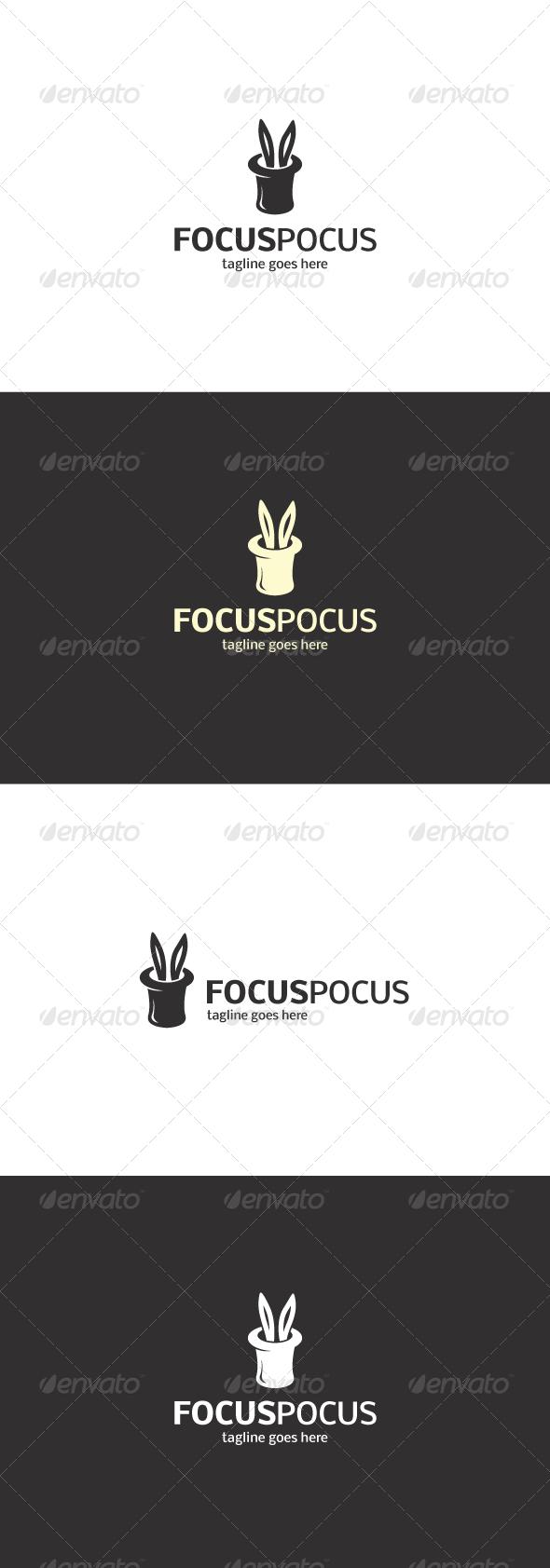 GraphicRiver Focus Pocus Logo 8217766