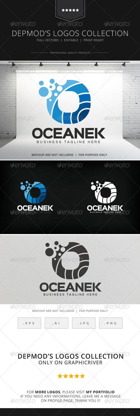GraphicRiver Oceanek Logo 8217925