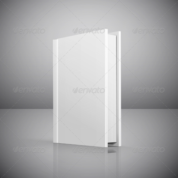GraphicRiver Blank Book Cover 8217995