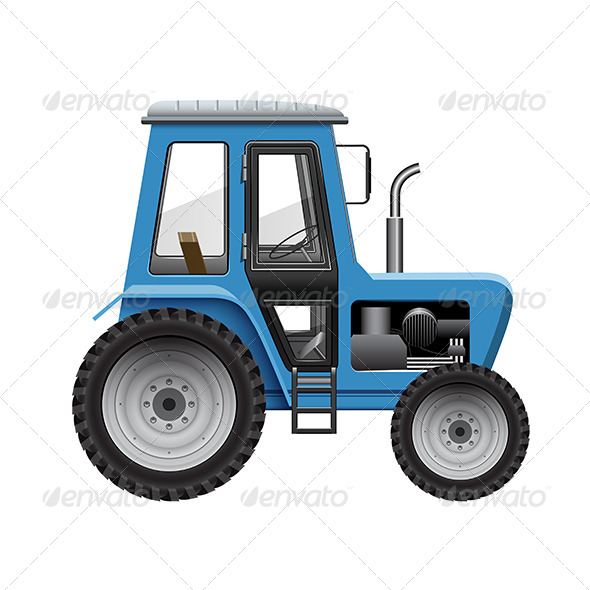 GraphicRiver Tractor 8217143