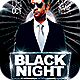 Black Night Flyer - GraphicRiver Item for Sale