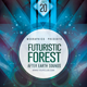Futuristic Forest Flyer Template - GraphicRiver Item for Sale