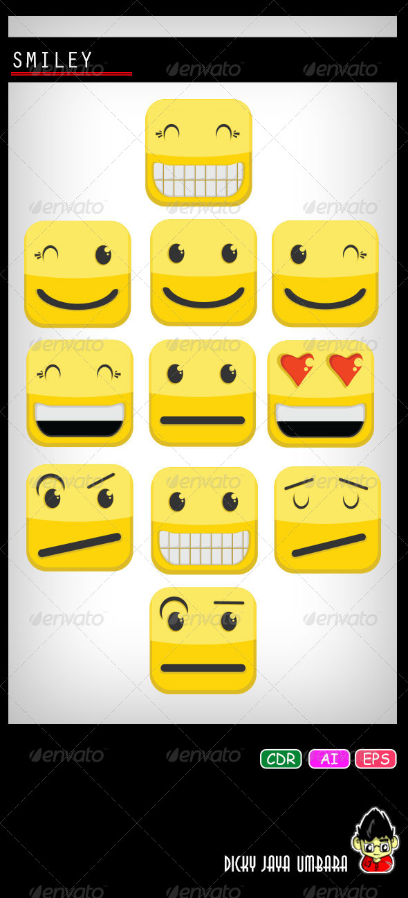 GraphicRiver Smiley 8218281