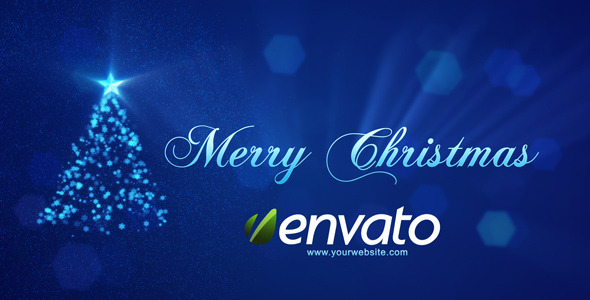 After Effects Project - VideoHive Merry Christmas Intro 840839