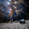 fireworks at home in a driveway - PhotoDune Item for Sale