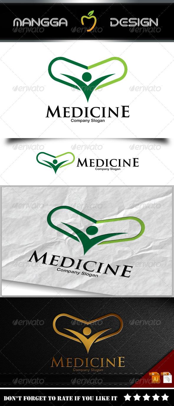 GraphicRiver Medicine Logo 8218935