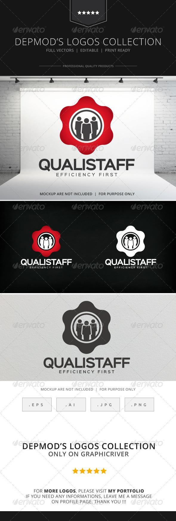 GraphicRiver Quali Staff Logo 8218976