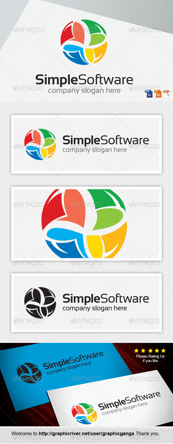GraphicRiver Simple Software 8219000