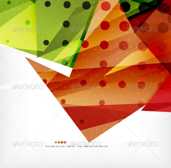 GraphicRiver Modern 3D Abstract Shapes on White Layout 8219042