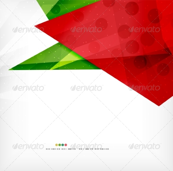 GraphicRiver Modern 3D Abstract Shapes on White Layout 8219079