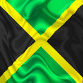 Jamaica Waving Silk Flag - PhotoDune Item for Sale
