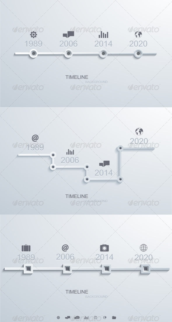 GraphicRiver Infographic Timeline 8219154
