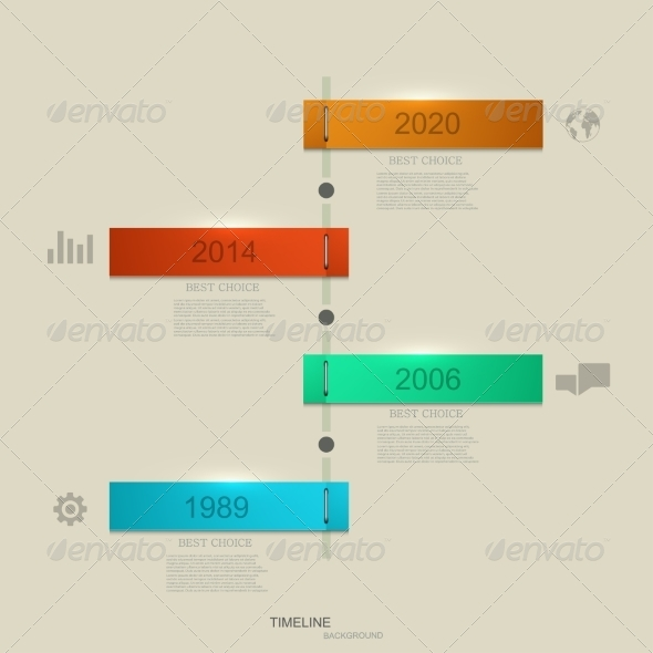 GraphicRiver Infographic Timeline 8219340