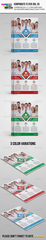 GraphicRiver Corporate Flyer Template Vol 25 8219348