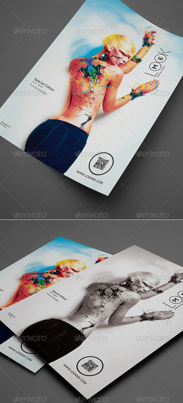 GraphicRiver Artistic Flyer Poster Vol 01 8219364