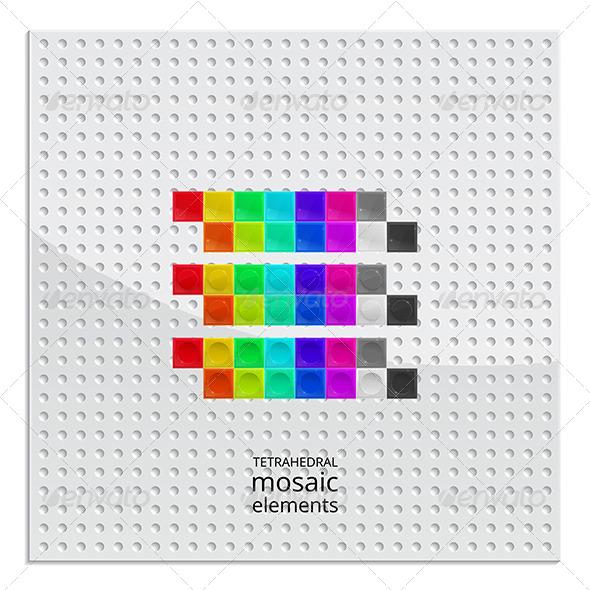 Tetrahedral Mosaic