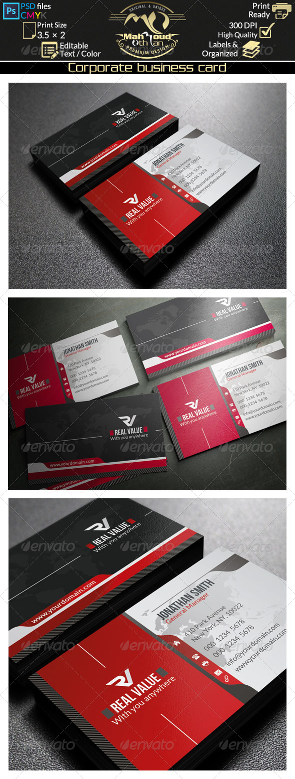 GraphicRiver Corporate Business Card 36 8219486