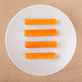 Crab sticks on plate - PhotoDune Item for Sale