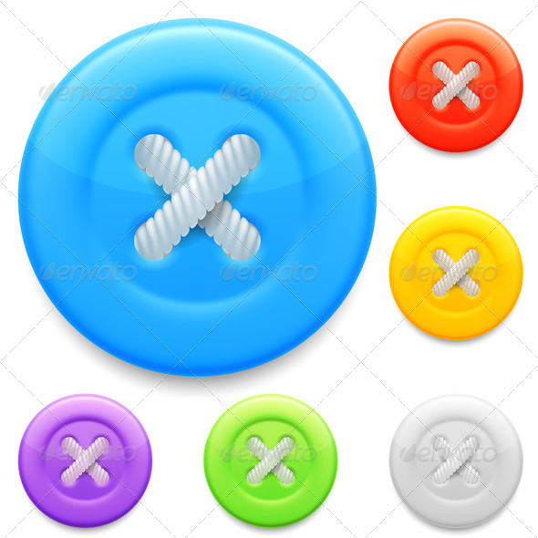 GraphicRiver Clothing Buttons 8219626