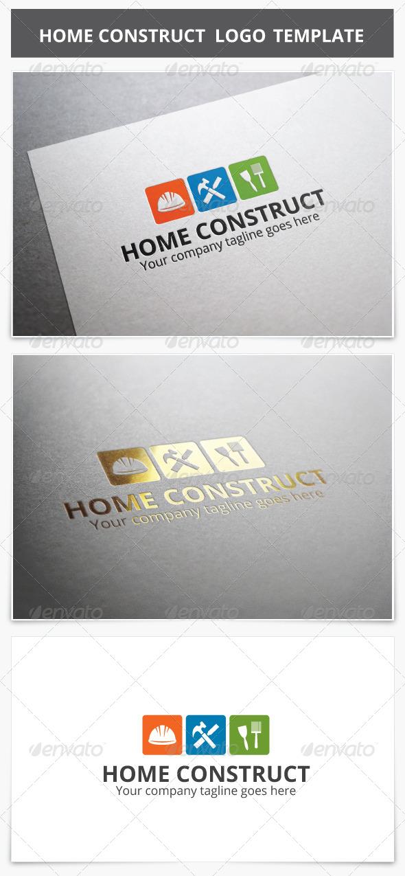 GraphicRiver Home Construct Logo 8219696
