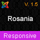Rosania - Multipurpose Joomla Responsive Templates - ThemeForest Item for Sale