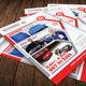 Auto Service Flyer Template 37 - GraphicRiver Item for Sale