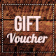 Wooden style gift voucher - GraphicRiver Item for Sale
