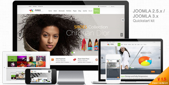 PURUS-Joomla Multipurpose Responsive Themes - Corporate Joomla