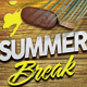 Summer Break Flyer v.2 - GraphicRiver Item for Sale