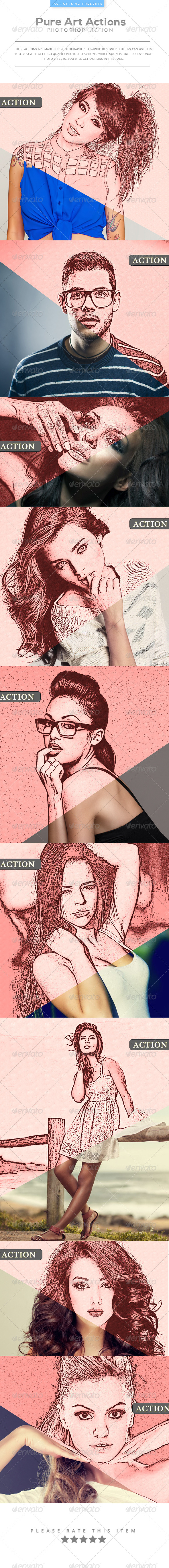 GraphicRiver Pure Art Actions 8226035