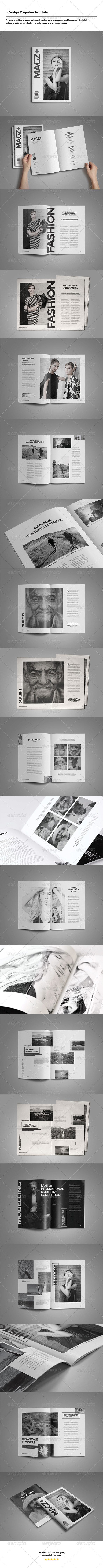 GraphicRiver Indesign Magazine Template 8226069