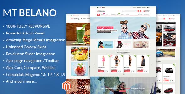 MT Belano Responsive Parallax Magento Theme - Magento eCommerce