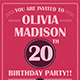 Birthday Party Invitation Template - Vol . 2 - GraphicRiver Item for Sale