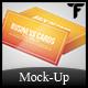 Business Card Mock Up Set Vol. 2 - GraphicRiver Item for Sale