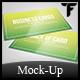 Business Card Mock Up Set Vol. 3 - GraphicRiver Item for Sale